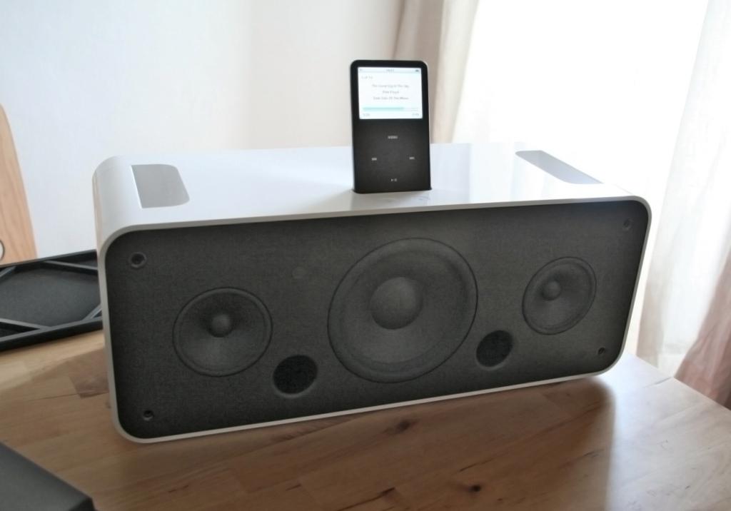 Lautsprecher mit iPod