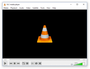 VLC Player Benutzeroberfläche